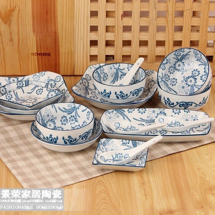 Cheap Dinnerware Sets on Sale at Bargain Price, Buy Quality packaging experts, packaging snack, tableware disposable from China packaging experts Suppliers at Aliexpress.com:1,Pattern Type:Plant 2,Technique:Under Glazed 3,Number of User:4 4,Model:c6165 5,Dinnerware Type:Dinnerware Sets