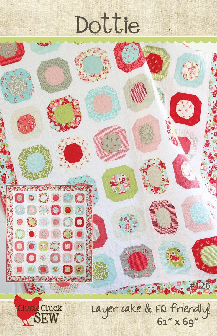 Dottie Quilt Pattern by Cluck Cluck Sew