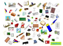 Zoekprent thema school om met anderstalige nieuwkomers en leerlingen Nederlands te oefenen.