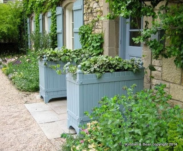 Just Three Things Planters Planter Boxes Garden Styles