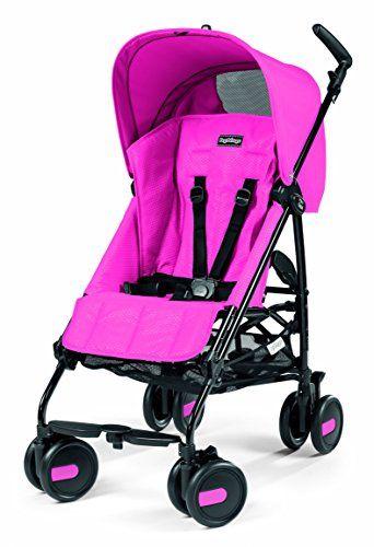 d99419c42 Peg Perego Pliko - Silla de paseo con capota y cestilla incluida, color rosa