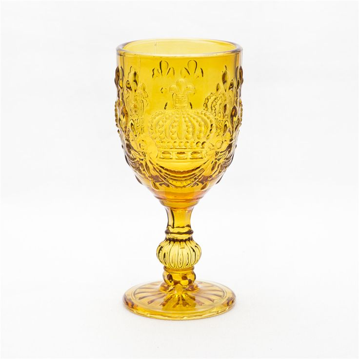 Handmade Wine Glass Goblet Crown Series Glassware Type and Eco-Friendly Feature Wine Glass