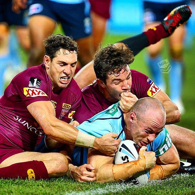 Scott scores #Origin #NRL | pic @chukstagram