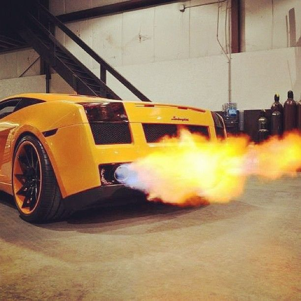 Lamborghini Gallardo Burnout