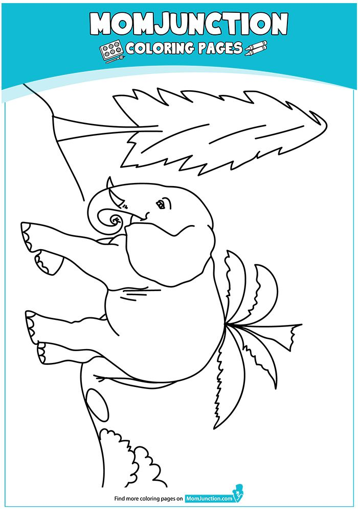 Elephant 17 A4 Jpg 700 995 Pixels Mom Junction Giraffe Coloring Pages Coloring Pages