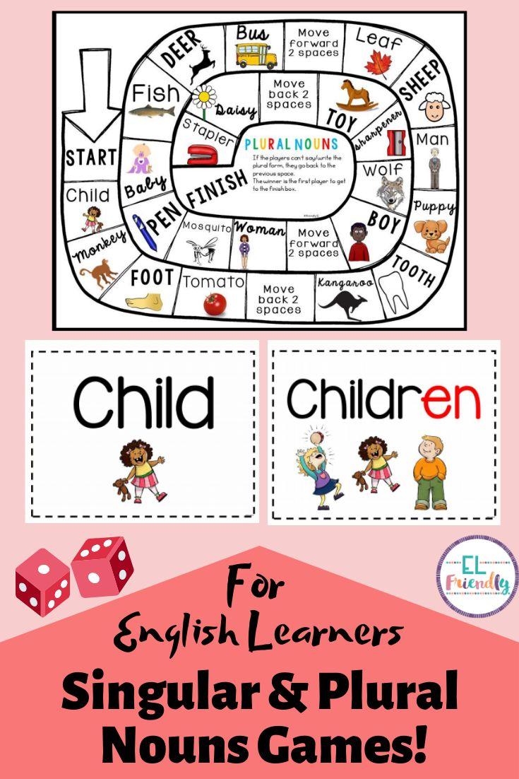 Singular Plural Nouns Games For English Learners Singular And Plural Nouns Plurals Plural Nouns [ 1102 x 735 Pixel ]