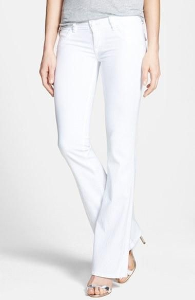 These signature Hudson jeans are so fresh!