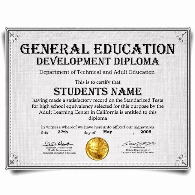 Ged Certificate Template Download Lovely Ged Certificate Template Download Essay Outline Template School Certificates Certificate Template