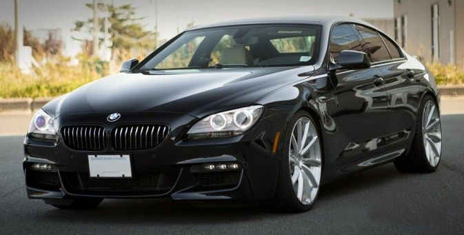 Lowered BMW 650i Gran Coupe on PUR RS08