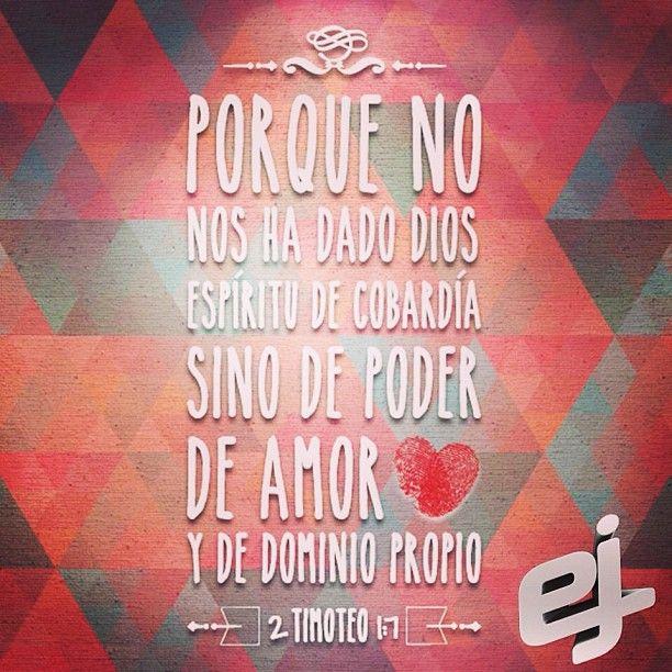 2 Timoteo 1:7