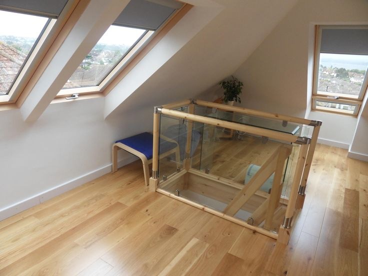 Open Plan Room Steep Stairs Roof Amp Attic Pinterest