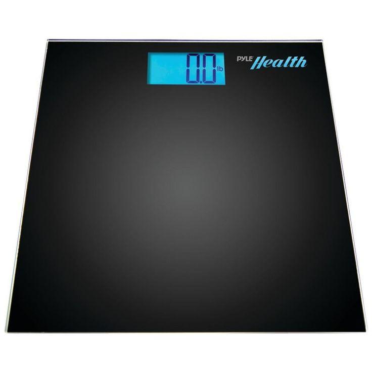 PYLE PHLSCBT2BK Bluetooth(R) Digital Weight Scale (Black)
