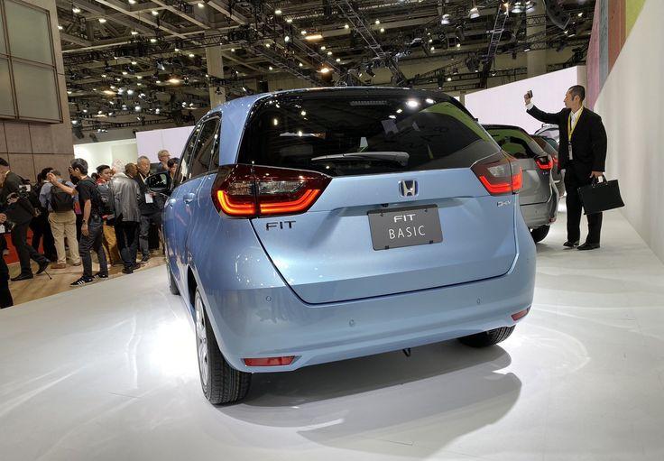 New Honda Jazz: the cutest hybrid at the Tokyo Motor Show