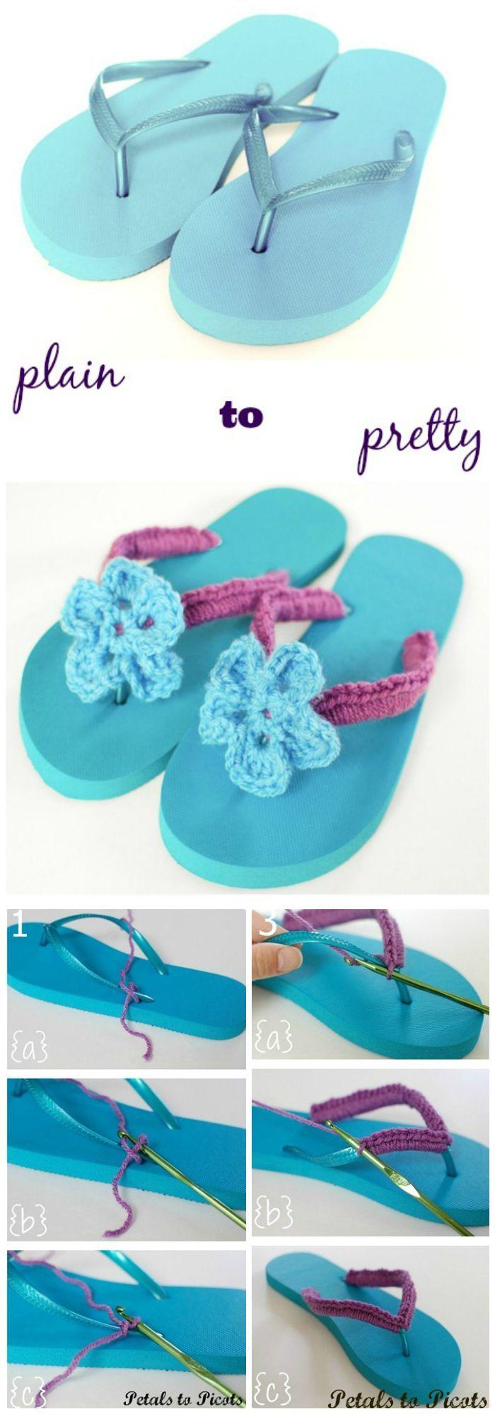 Best 25 diy crochet flip flops ideas on pinterest crochet flip 22 crochet slippers boot shoes flip flops free patterns page 3 of 4 bankloansurffo Gallery