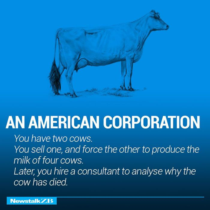 Two Cows Explain Economics Better Than Any Class http://www.boredpanda.com/corporation-economies-explained-cows-ecownomics/?utm_source=newsletter&utm_medium=link&utm_campaign=Newsletter