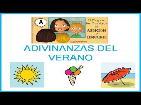 Adivinanzas del verano_Juego para niños - YouTube