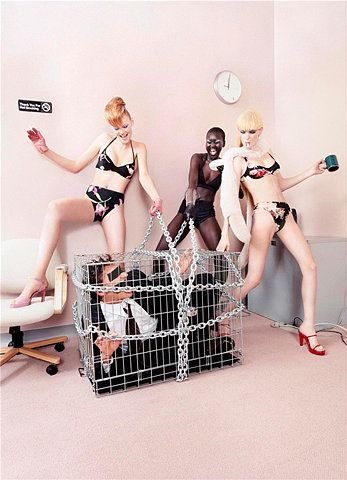 Secretary's Day by David LaChapelle - Touchpuppet
