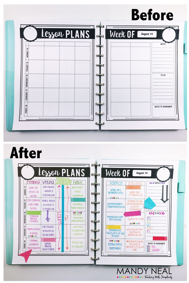 5 Tips to Take Your Teacher Binder from Drab to Fab