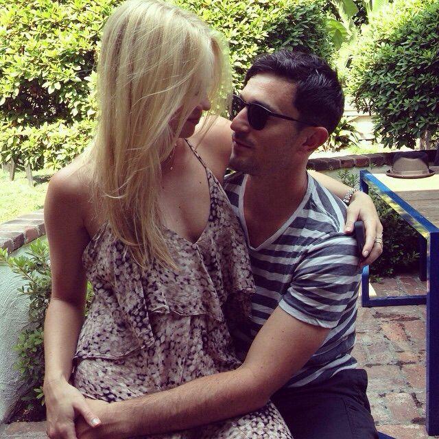 Becca Tobin and late boyfriend Matt Bendik