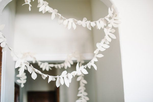 DIY: Felt Foliage Garland