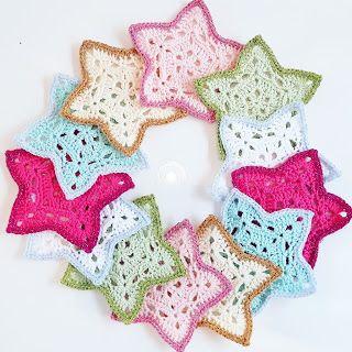 Crochet Addict : Gratis patroon kerststerren haken!