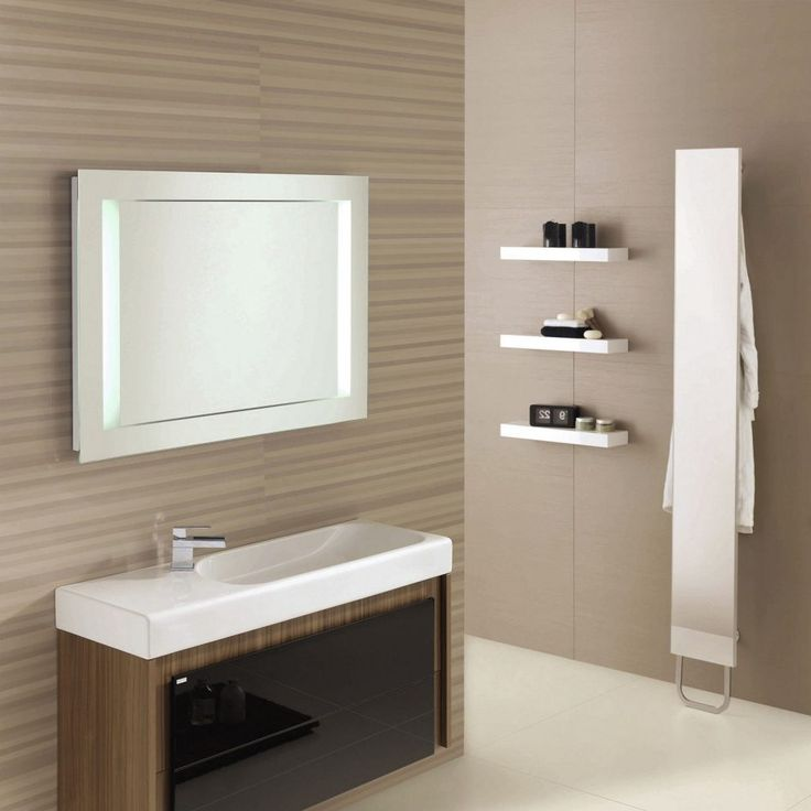 Bathroom Bathroom Mirror Frames Which Can Be An Inspiration For A Revamp Of A Contemporary Bathtub Or Shower Equipped With An Insoluble Sink Complete With Flat Panel Cabinets Special Bathroom Mirror Frames