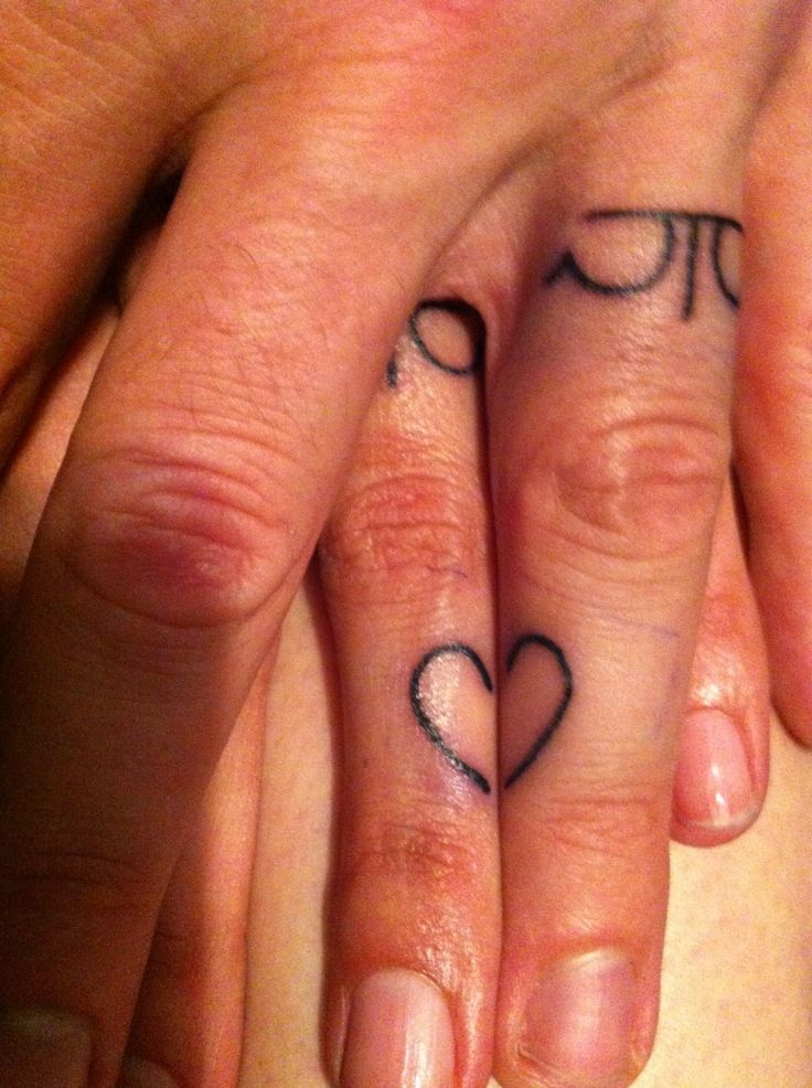 30 best Wedding ring finger tattoos images on Pinterest Marriage
