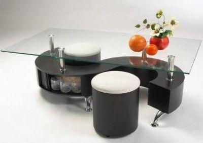 mesas ratonas modernas para living