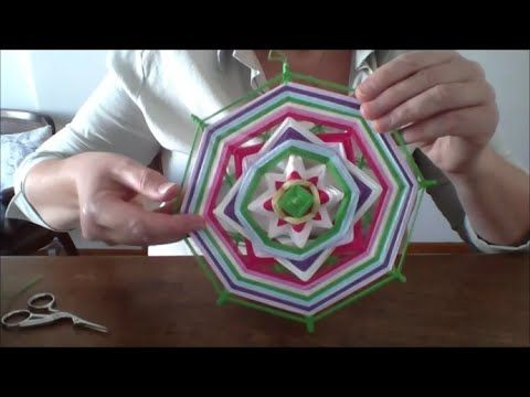 Mandala Tejido Tutorial - YouTube