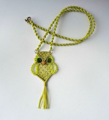 Knot Just Macrame by Sherri Stokey: Macrame Owls for All ...