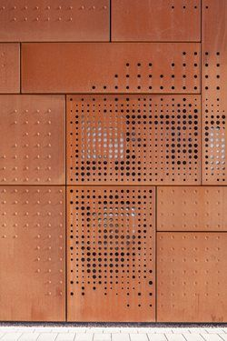 City Library Bruges, Bruges, Belgique - Studio Farris Architects / corten steel