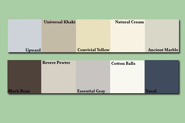 Revere pewter benjamin moore hc 172 don 39 t let the for Neutral paint colors sherwin williams