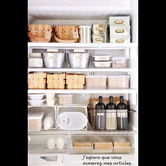 lovelyzakkaさんの、冷蔵庫の中だってインテリア(*´艸`*),ブログ更新しました♡,100均ばっかりヾ(;´▽`A``,冷蔵庫収納見直し,今日頑張ったこと,のお部屋写真