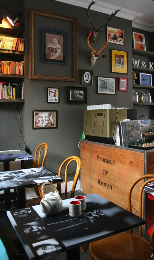Wall & Keogh Organic Tea House in Dublin... love the relaxed cosy vibe