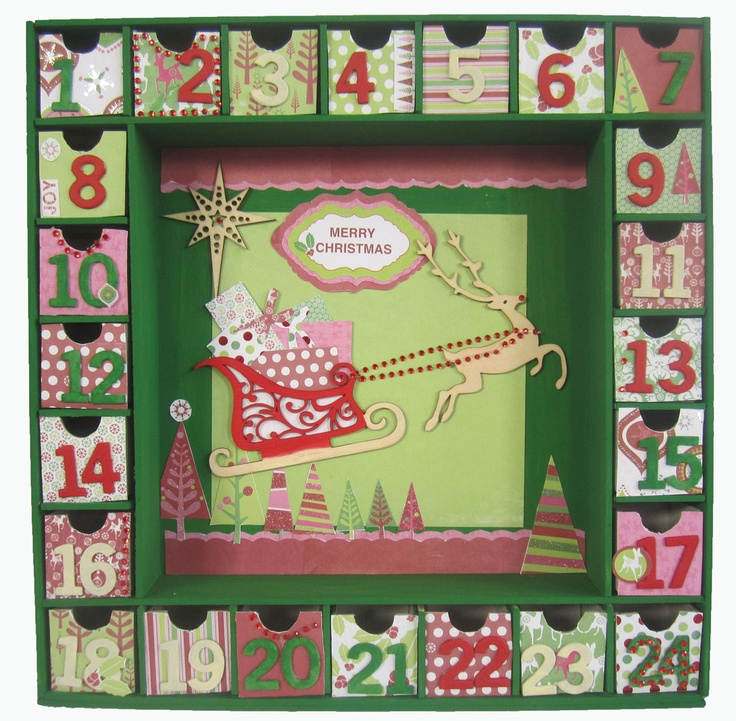 Calendar Kit Ideas : Best advent calendar images on pinterest