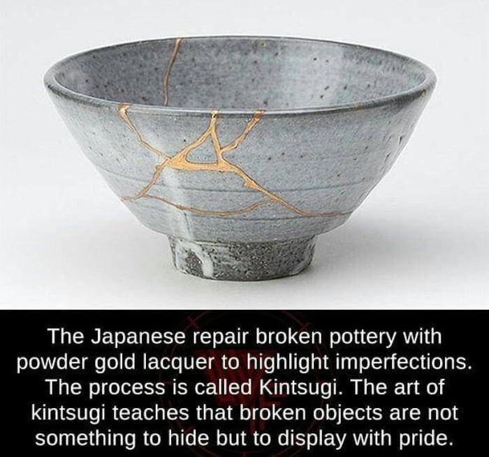 Kintsugi Art Kintsugi Art Kintsugi Japanese Broken Pottery