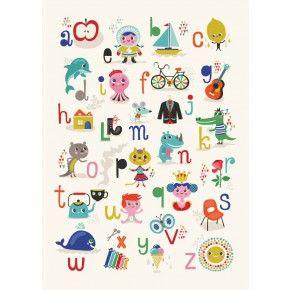 Helen Dardik poster ABC 50 x 70 cm | PSikhouvanjou