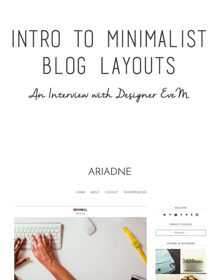 The 25+ best Blog layout ideas on Pinterest | Image websites like ...