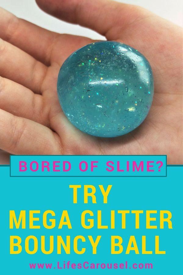 Wie man einen SUPER Bouncy Ball macht! Verwendet die gleichen Zutaten wie Schleim! So einfach und …   – DIY Projects