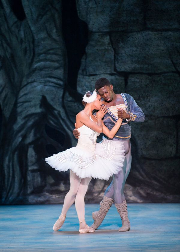 Review: Misty Copeland in the Washington Ballet's 'Swan Lake' - NYTimes.com