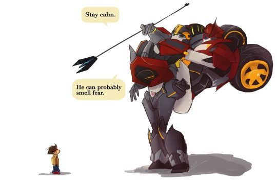Transformers Prime Meme Knockout