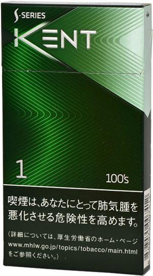 Kent S-series Menthol 100´s - Japan | MARCAS DE CIGARROS ...