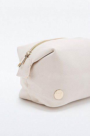 Mi-Pac Cosmetics Bag in Cream - Urban Outfitters
