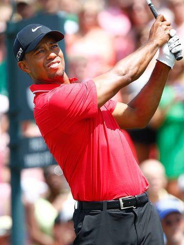 Tiger Woods won the Players Championship on Sunday. (via @USA TODAY; photo via Debby Wong, USA Today Sports)