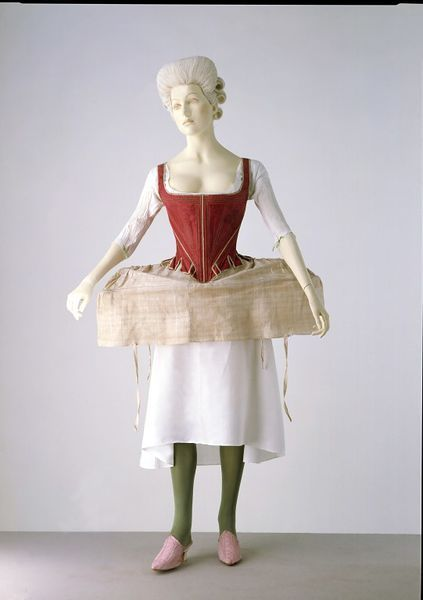 Side Hoop (Panniers) 1778, British, Victoria & Albert Museum, Given by Mr and Mrs R. C. Carter, T.120-1969