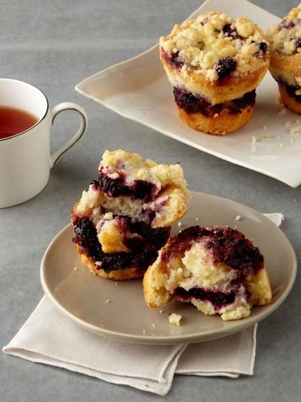 Cake Monkey - Blackberry Thyme Muffins | Tempting | Pinterest