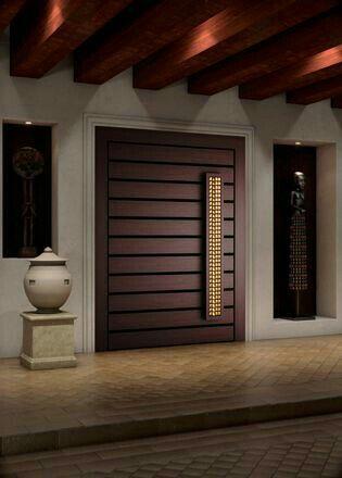 646 best new door images on pinterest entrance doors for Interior design main door entrance