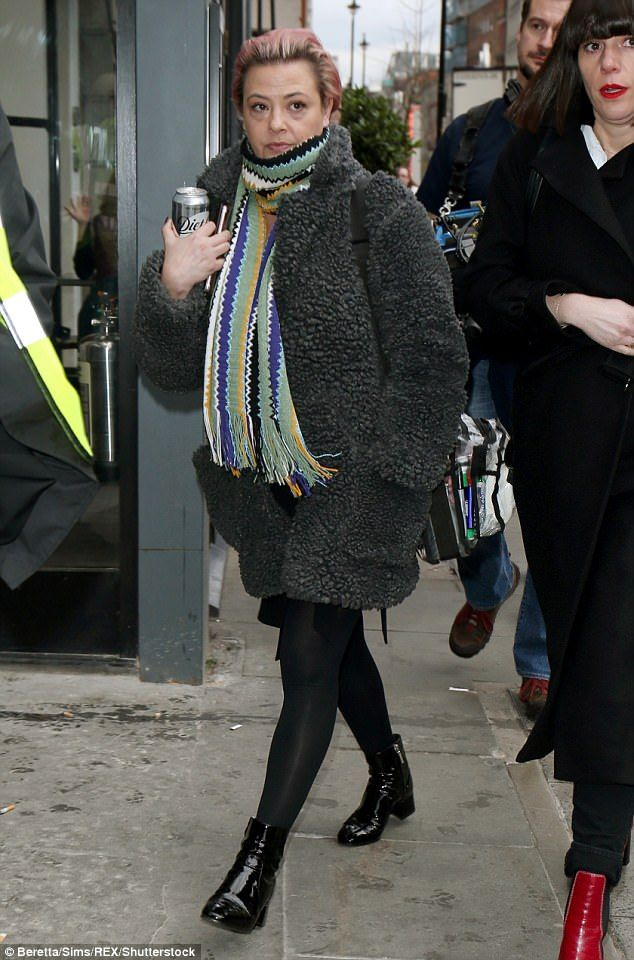 Lisa Armstrong arrives to BGT auditions for the first time  Lisa Armstrong returned to work onBritains Got Talenton Tuesday for the first time since announcing her 155m divorce from the shows presenter Ant McPartlin.  Debuting new pink hair the 41-year-old make-up artist wrapped up in a grey knee-length jacket and multi-coloured scarf as she made her way inside theLondon venue on Tuesday afternoon minutes after the arrival of her smiling estranged husband.  It was previously reported that…