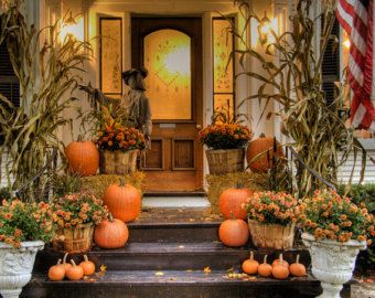 autumn halloween porch contest stop by here to get lots of ideas for decorating your porch for autumn and halloween we have oodles of porch decorating