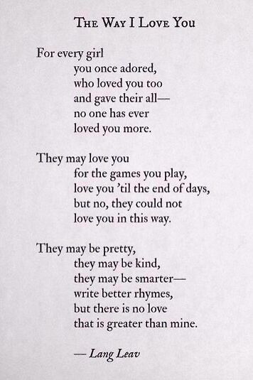 Lang Leav Quote!